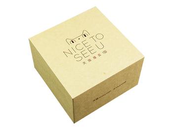 天猫魔盒,牛皮纸包装盒