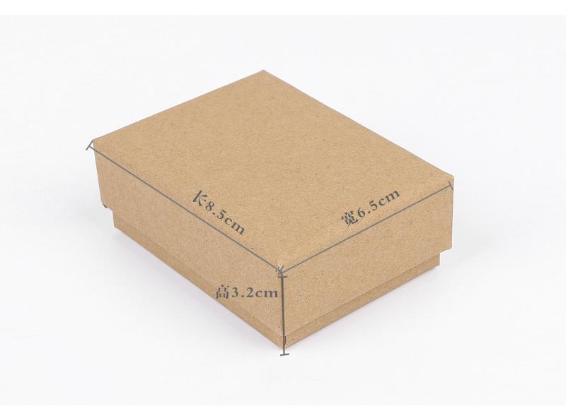 牛皮紙飾品盒包裝案例
