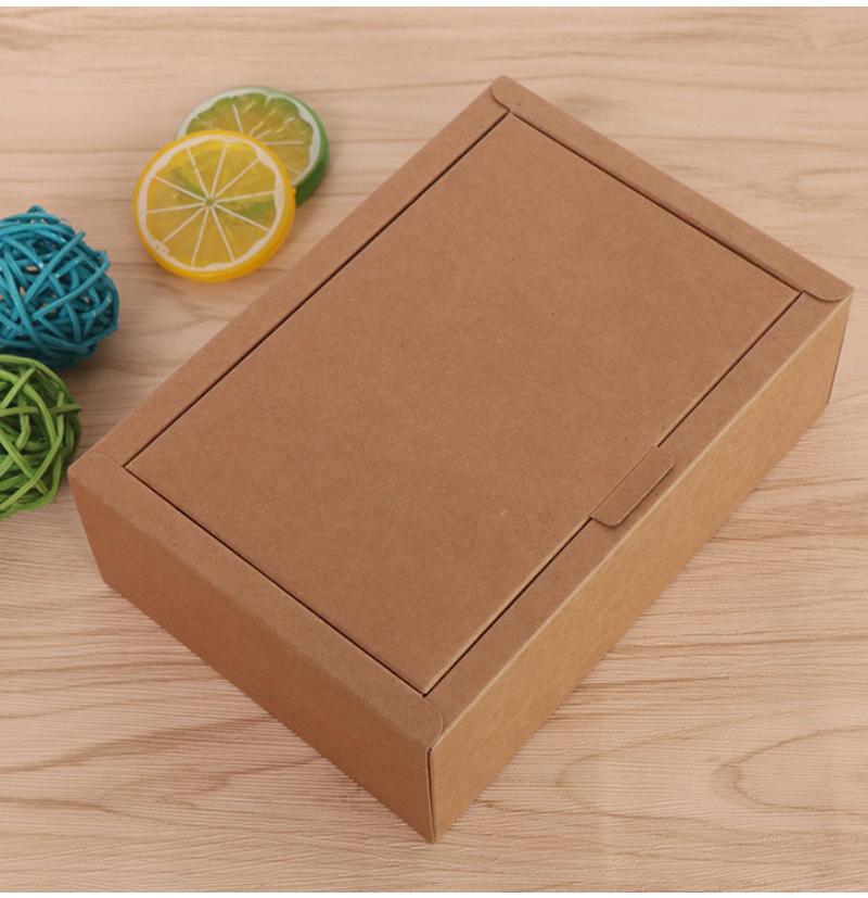 阿膠糕紅糖牛皮紙包裝盒案例